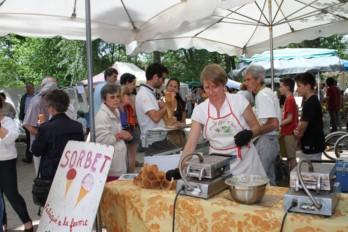foires et marché fruit agriculture biologique